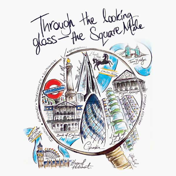 Through the Looking Glass - London